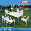 Nuova Tabella e sedie di estensione della mobilia del giardino di disegno regolate