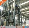 La cargaison verticale d'entrepôt diplôméee par ce soulève la plate-forme avec l'énergie électrique
