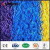Césped sintetizado material natural del color de la hierba del PPE del último diseño al aire libre