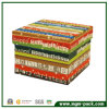Fashion popular Colorful Paper Chocolate Gift Box para Packaging