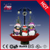 Christmas di nevicata Decoration con Red Umberlla Base