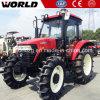 Tractor en Apparatuur de de met 4 wielen van de Aandrijving van het Gebruik 100HP van het landbouwbedrijf