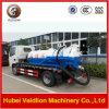 Vrachtwagen van de Zuiging van de Riolering van Dongfeng 6000liter/6cbm/6m3/6000L de Vacuüm