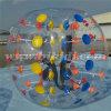 最上質TPUの膨脹可能なノッカーの球、泡サッカーボールD5009