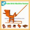 Qmr2-40 가족 사용을%s 휴대용 작은 수동 찰흙 벽돌 기계