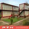 China pré-fabricou a casa do edifício do recipiente com construído rapidamente e monta-a