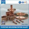 Elétrodo do cobre da soldadura de Crzrcu da máquina de soldadura de aço do tambor