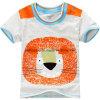 L'animale di alta qualità ha stampato l'usura dei bambini della maglietta dei neonati
