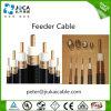 Cable de alimentación dieléctrico del RF de la espuma flexible de encargo de China