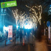 عيد ميلاد المسيح شارع شجرة زخرفة [لد] خيم شبكة ستار ضوء