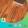 Plancher en bois stratifié par stratifié de vinyle d'enduit de cire du piano 12.3mm d'E1 AC3