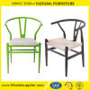 Стул Wishbone y металла обедая стул для Rental