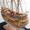 Деревянная классическая модель корабля Model_Sailing корабля маштаба (BM-0104)
