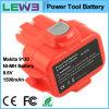 батарея 9120 електричюеского инструмента 9.6V