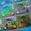 De zilveren Sticker van de Verbinding van de Veiligheid van de Regenboog Holografische