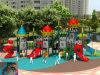 Equipo temático del patio de los niños de gran tamaño del castillo de Kaiqi (KQ50053A)