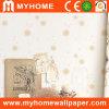 Wall respetuoso del medio ambiente Paper con PVC Vinyl Surface