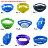 Wristbands impermeabili di frequenza ultraelevata RFID di HF del silicone o braccialetto di RFID