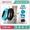 Relógio ginástico do podómetro de Bluetooth do perseguidor da atividade do Wristband esperto