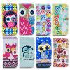 OEM Pattern Beautiful Wallet Case Silicon Printing para celulares para iPhone 6