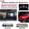 Interfaccia Android del sistema di percorso dell'automobile video per Mazda Cx-3