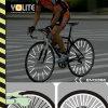 Raio reflexivo da bicicleta