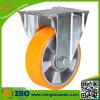 Unité centrale industrielle de jaune sur la chasse en aluminium de faisceau
