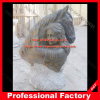Cabeça de cavalo com escultura de mármore das mulheres para a decoração Home