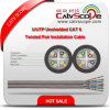 Cat 6 Cream Color 2X4 Twisted Pair Installation Cable de réseau local Cable U/UTP Unshielded de la Chine Professional Supplier Structure Cabling