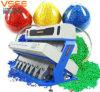 Tipo plástico automático selector de la máquina de proceso del color