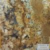 Countertops van het Graniet van de chocolade Gouden Gele