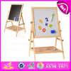 Éducation 2015 Art Easel School Supplier Wooden Painting Board, Hot Sale Convenient Painting Board avec Adjustable Holder W12b062