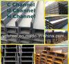 カーボン合金の角度の鋼鉄Q345b A36チャネル/平らな/ビーム鋼鉄