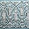 Tissu neuf de broderie de polyester pour Madame Dresses