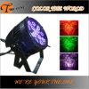 Le PAIR UV imperméable à l'eau de la couleur DMX peut lumière extérieure de LED