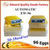 最も安い価格のフルオートマチックの卵回転小型卵の定温器Yz-96A