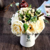 Gerbera及びローズの組合せの花束のArtificailの花(SF15471)