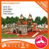 Kinder Plastic Slide Outdoor Playground Equipment für Sale
