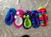 5つのカラー珊瑚のビロードの屋内靴(RY-SL1640)