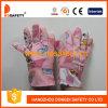Перчатки сада детей с розовым хлопком Dgk103