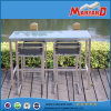 Style semplice Stainless Steel Bar Stool Furniture con Mesh Farbic