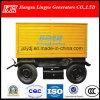 Mobile Trailerelectric arranque de generador diesel