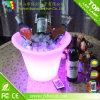 Encendido LED de plástico Titular de Hielo