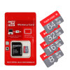 Cartão do SD da capacidade real micro & mini cartão do SD & cartão 128GB Class10 do TF