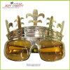 Plastique Glassess de fête d'anniversaire d'or