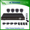 D1 4CH H. 264 CCTV Camera System Kit (BE-8104V4ID42)