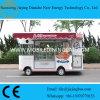 De originele Mobiele Vrachtwagens van het Voedsel Disigned voor Verkoop met Automatisch Tonend Kabinet