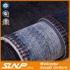 Самое высокое Cottton/эластичная ткань джинсовой ткани тяжелое дыхание