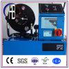 Máquina de friso da mangueira hidráulica padrão livre da exportação dos dados