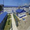 Prédio da escola pré-fabricado com certificação do Ce